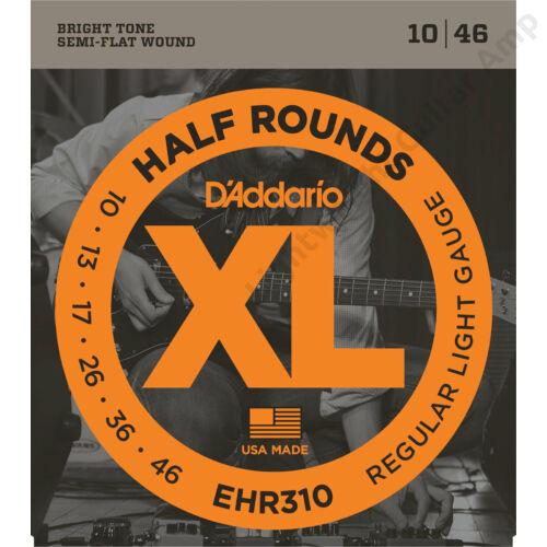 Daddario EHR310 Half round reg light set