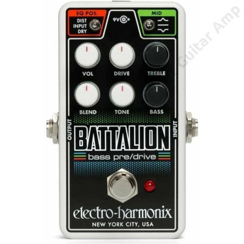 Electro Harmonix Nano Battalion Bass Preamp