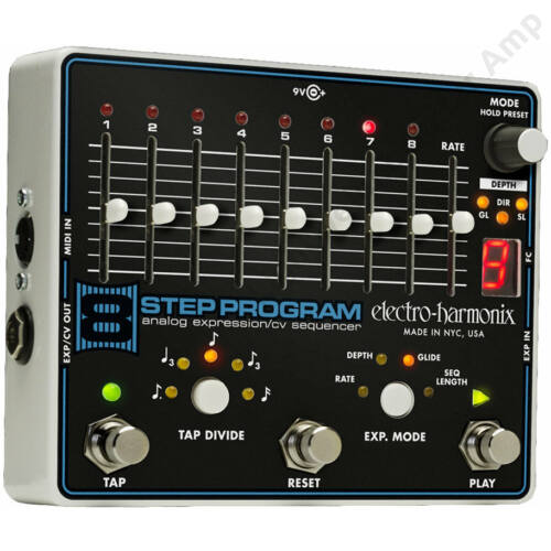 Electro Harmonix 8 Step Program analog expression sequencer