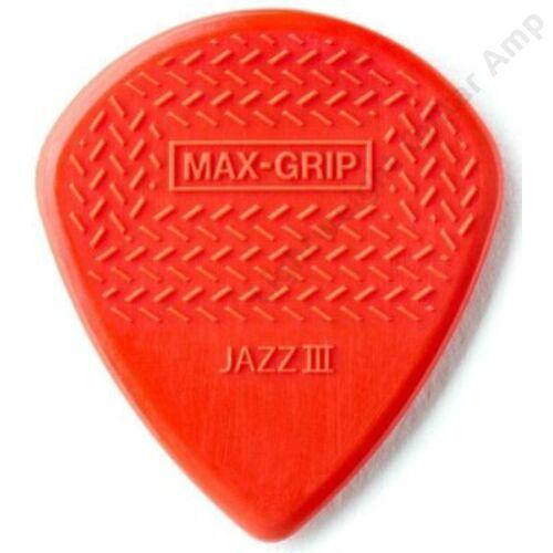 Jim Dunlop Nylon Max Grip Jazz III