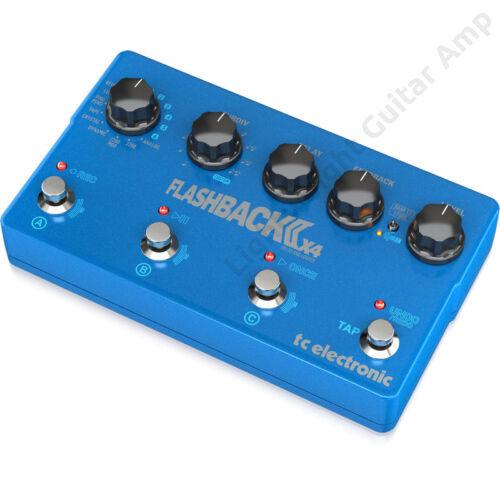 TC Electronic FLASHBACK 2 X4 DELAY Gitár Pedál
