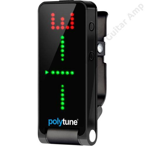 TC Electronic PolyTune Clip Csíptethető Hangoló, fekete