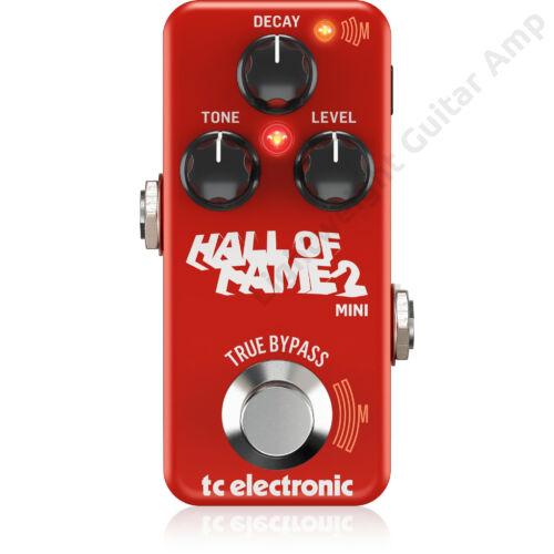 TC Electronic Hall of Fame 2 Mini Reverb effekt pedál