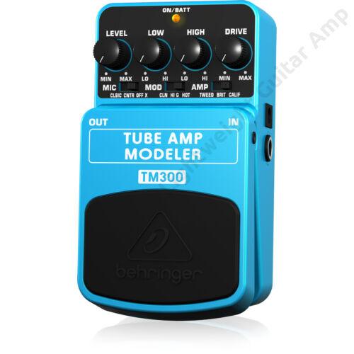 Behringer TUBE AMP MODELER TM300 Gitár Pedál
