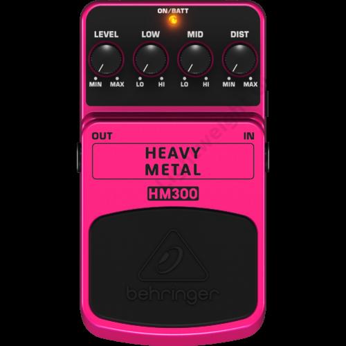 Behringer HEAVY METAL HM300 Effekt Pedál